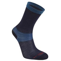 Bridgedale Coolmax Liner Sock Liners Socks - Womens-Navy