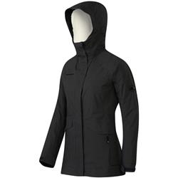 Mammut Trovat Advanced SO Hooded Jacket - Womens-Graphite
