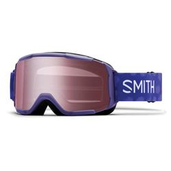 Smith Optics Daredevil, Ultraviolet Brush Dots Frame, Blue Sensor Mirror Lens -Junior (Xtra Lens Not Included)-Not Applicable