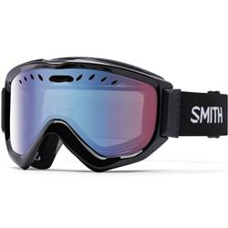 Smith Optics Knowledge OTG, Black Frame, Blue Sensor Mirror Lens (Xtra Lens Not Included)-Not Applicable
