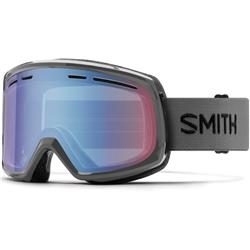 Smith Optics Range, Charcoal Frame, Blue Sensor Mirror Lens (Xtra Lens Not Included)-Not Applicable