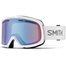 Smith Optics Range, White Frame, Blue Sensor Mirror Lens (Xtra Lens Not Included)-Not Applicable