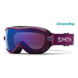 Smith Optics Virtue, Grape Split Frame, Chromapop Storm Rose Flash Lens (Xtra Lens Not Included)-Not Applicable