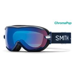 Smith Optics Virtue, Navy Micro Floral Frame, Chromapop Storm Rose Flash Lens (Xtra Lens Not Included)-Not Applicable