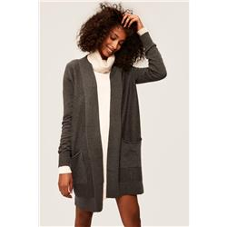 Lole Marnie Cardigan - Womens-Dark Grey Heather