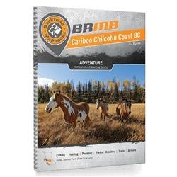 Backroad Mapbooks Cariboo Chilcotin Coast BC - Spiral - 4th Edition-Not Applicable