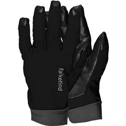 Norrona Falketind Windstopper Short Gloves-Caviar / Ash
