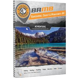 Backroad Mapbooks Vancouver, Coast & Mountains BC - Spiral - 4th Edition-Not Applicable