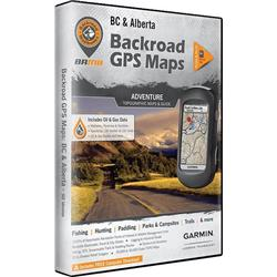 Backroad Mapbooks BC & Alberta GPS Maps (SD)-Not Applicable