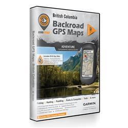 Backroad Mapbooks GPS Maps - British Columbia-Not Applicable