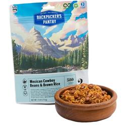 Backpackers Pantry Mexican Cowboy Beans & Brown Rice - 2 Serving-Not Applicable