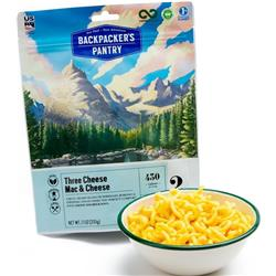 Backpackers Pantry Three Cheese - Mac & Cheese - 2 Serving - Vegetarian Entree-Not Applicable