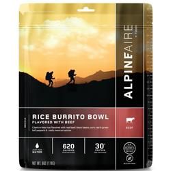 AlpineAire Rice Burrito Bowl Flavoured with Beef - Gluten Free-Not Applicable