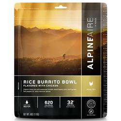 AlpineAire Rice Burrito Bowl Flavoured with Chicken - Gluten Free-Not Applicable