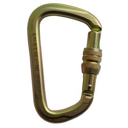 GrandWall Equipment Zion ScrewGate Steel Carabiner-Not Applicable