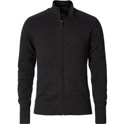 Royal Robbins All Season Merino Track Jacket - Mens-Charcoal