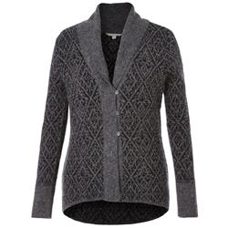 Royal Robbins Autumn Rose Cardigan - Womens-Charcoal