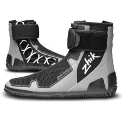 Zhik ZhikGrip Lightweight High Cut Race Boot - Unisex-Grey / Black