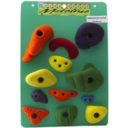 Metolius PU Greatest Hits: Boulder 12 (12pk)-Assorted