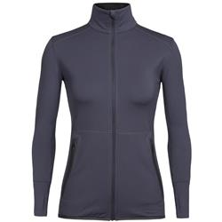 Icebreaker Comet LS Zip- Womens-Monsoon