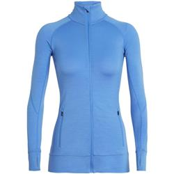 Icebreaker Fluid Zone LS Zip - Womens-Cove
