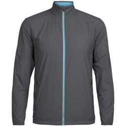 Icebreaker Incline Windbreaker- Mens-Monsoon / Mediterranean
