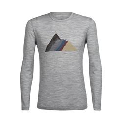 Tech Lite Merino LS Crewe - Seven Summit Stack - Mens