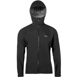 Rab Downpour Plus Jacket - Mens-Black