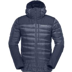 Norrona Falketind Down750 Hood Jacket - Mens-Indigo Night