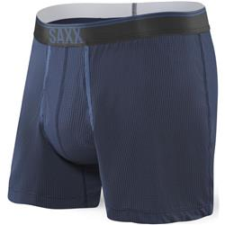 Saxx Underwear Quest Loose Boxer Fly - Mens-Midnight Blue