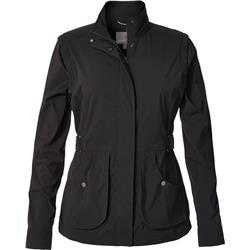 Royal Robbins Discovery Convertible Jacket - Womens-Jet Black