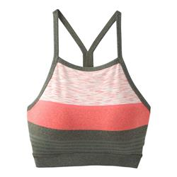 Prana Alois Bralette - Womens-Forest Heather Stripe