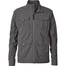 Royal Robbins Traveler Convertible Jacket - Mens-Charcoal