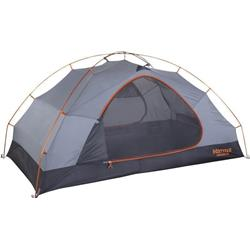 Marmot Fortress 2P, 2 Person, Outdoor Tent-Tangelo / Grey Storm
