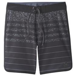 "Prana High Seas Boardshorts, 9"" Inseam - Mens-Black Field Stripe"