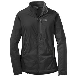 Outdoor Research Ascendant Jacket - Womens-Black / Charcoal