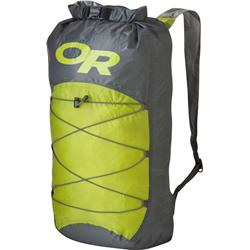 Outdoor Research Dry Isolation Pack-Pewter / Lemongrass