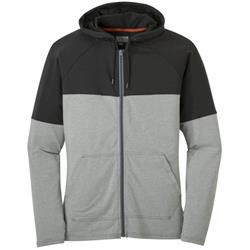 Outdoor Research Fifth Force Hoody - Mens-Charcoal Heather / Black