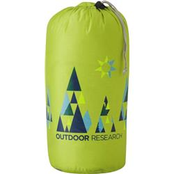 Outdoor Research Graphic Stuff Sack 15L - Woodsy-Lemongrass