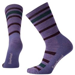 Striped Hike Light Crew Socks - Womens