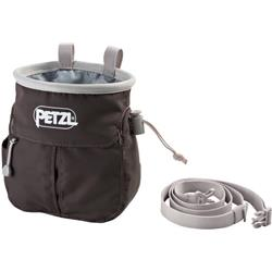 Petzl Sakapoche Chalkbag With Pocket And Belt-Gray