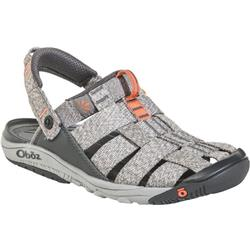 Oboz Campster - Womens-Heather Gray / Coral