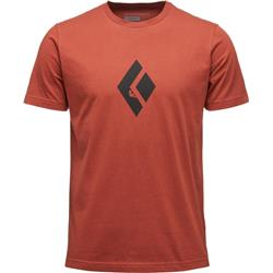 Black Diamond Climb Icon SS Tee - Mens-Brick