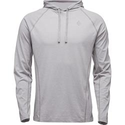 Black Diamond Crag Hoody - Mens-Aluminum