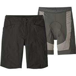 "Patagonia Dirt Craft Bike Shorts, 11.5"" Inseam - Mens-Black"