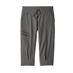 Patagonia Fall River Comfort Stretch Crops - Womens-Forge Grey