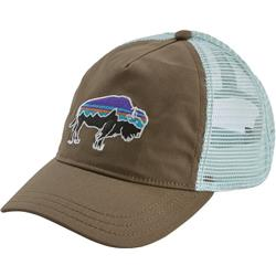 Patagonia Fitz Roy Bison Layback Trucker Hat - Womens-Burnie Brown