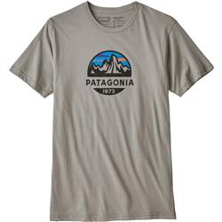Patagonia Fitz Roy Scope Organic T-Shirt - Mens-Feather Grey