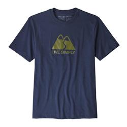 Live Simply Winding Responsibili-Tee - Mens