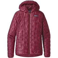 Patagonia Micro Puff Hoody - Womens-Arrow Red